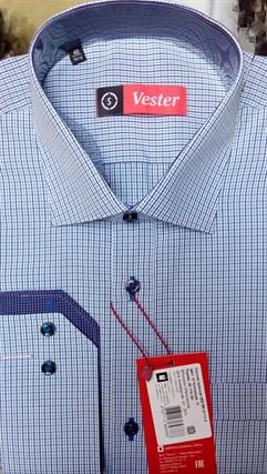 Рубашка приталенная VESTER 87114s-01 - фото 17610