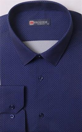 Мужская рубашка большого размера BROSTEM 1LG058-4 - фото 17700