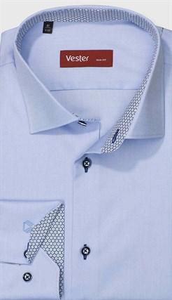 Рубашка приталенная VESTER 13915-15w-21 - фото 17715
