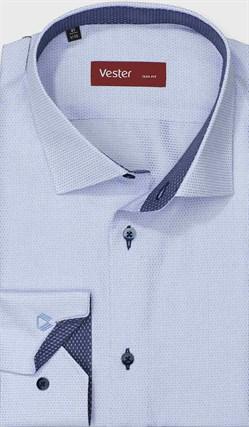 Рубашка приталенная VESTER 13914-01w-21 - фото 17724