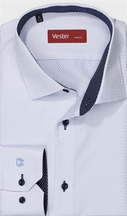 Рубашка приталенная VESTER 13914-02w-21 - фото 17731