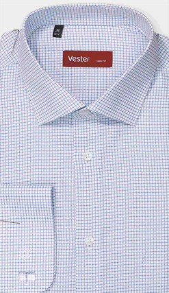 Рубашка приталенная VESTER 27914-13w-21 - фото 17752