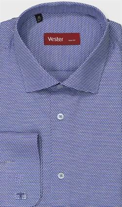 Рубашка приталенная VESTER 27914-14w-21 - фото 17776