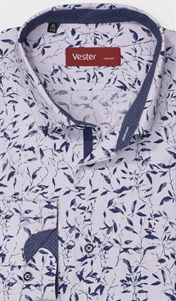 На высокий рост рубашка VESTER 281142-08w-21 - фото 17798