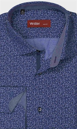 На высокий рост рубашка VESTER 281142-09w-21 - фото 17803