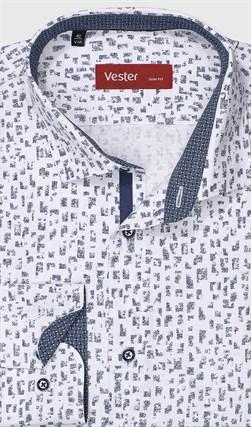 Рубашка полуприталенная VESTER 28114-07w-21 - фото 17810
