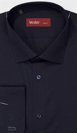 На высоких баклажановая сорочка VESTER 707142-93w-21 - фото 17850