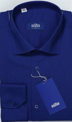 Синяя рубашка большой рост