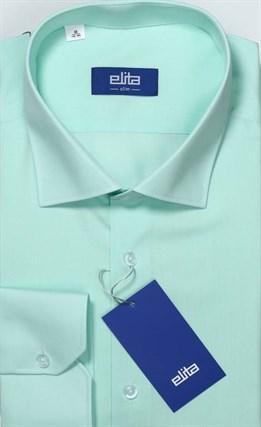 бирюзовая рубашка ELITA большой рост