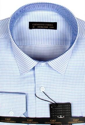 Мужская сорочка полуприталенная BUR 417-1 - фото 18094