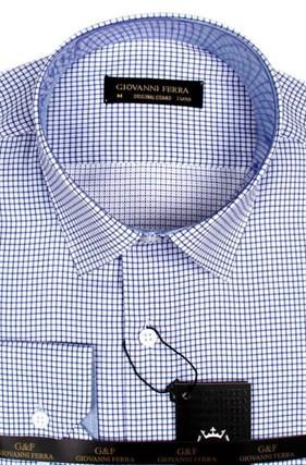 Рубашка в мелкую клетку BUR 417-2 - фото 18096