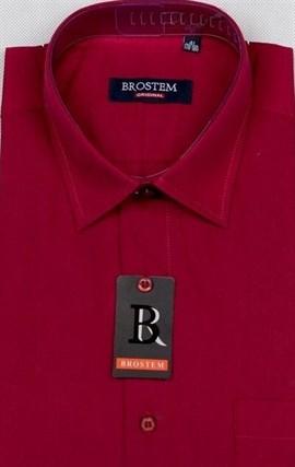 Бордовая мужская рубашка