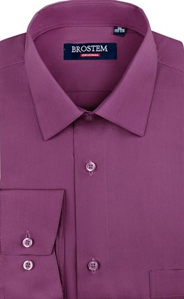 Мужская рубашка цвета фуксия