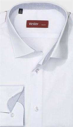 Белая рубашка VESTER на высоких