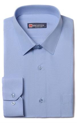 Полуприталенная рубашка 9LBR123-3 - фото 18259