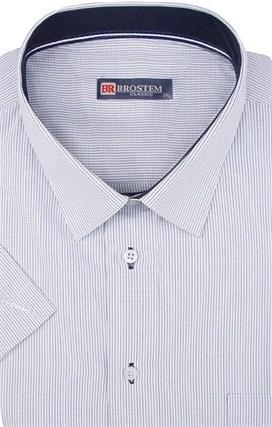 Большая мужская рубашка с коротким рукавом 1SG60-2sg - фото 18411