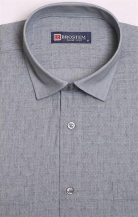Рубашка короткий рукав со льном BROSTEM 1SBR129-1 - фото 18504
