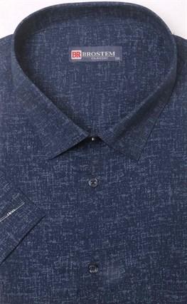 Тёмно синяя рубашка гигант