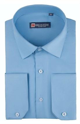 Приталенная рубашка 4721 с модалом - фото 18723