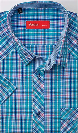 Рубашка с коротким рукавом VESTER 80814-67sp-21 - фото 18776
