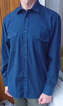 Байковая рубашка 100% хлопок BROSTEM 8LBR47-4 - фото 18801