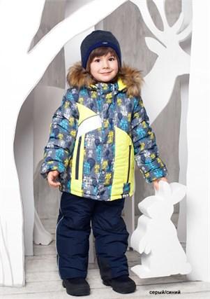 """Зимний костюм для мальчика Oldos """"Артемий"""" - фото 5203"""