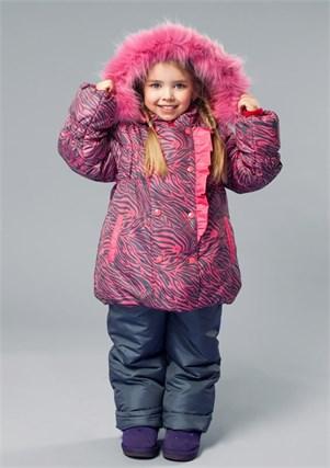 """Зимний костюм для девочки Oldos """"Берта"""" - фото 5207"""