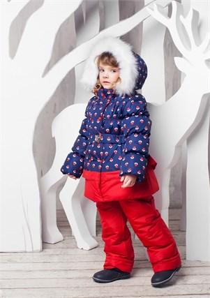 """Зимний костюм для девочки Oldos """"Вишня"""" - фото 5208"""