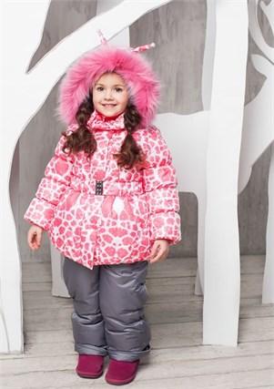 """Зимний костюм для девочки Oldos """"Айрис"""" - фото 5210"""