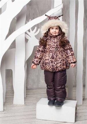 """Зимний костюм для девочки Oldos """"Айрис"""" - фото 5211"""