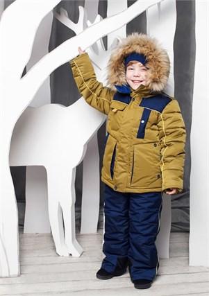 """Зимний костюм для мальчика Oldos """"Арсен"""" - фото 5218"""