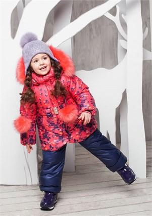 """Зимний костюм для девочки Oldos """"Жанна"""" - фото 5219"""