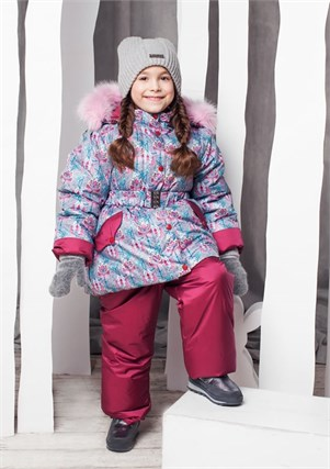 "Зимний костюм для девочки Oldos ""Адель"" - фото 5222"