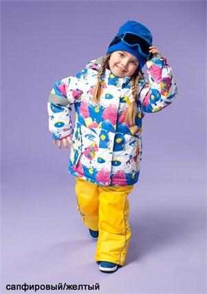"""Зимний костюм для девочки Олдос Актив """"Лилита"""" - фото 5297"""