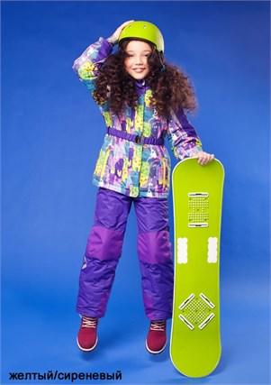 """Зимний костюм для девочки Олдос Актив """"Ариэль"""" - фото 5301"""
