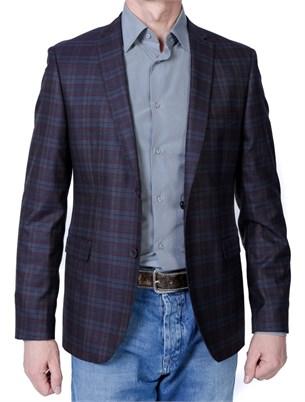 Пиджак приталенный CORVETTE col.V5, уменьшенная полнота - фото 5470