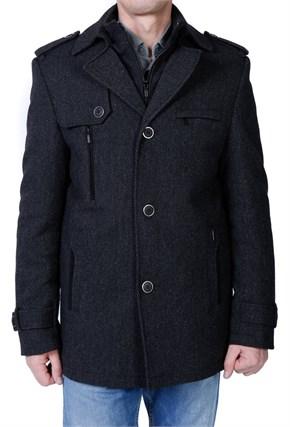 Зимнее пальто на утеплителе Ф-130 - фото 5530