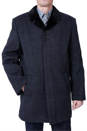 Зимнее пальто на утеплителе А-58Рс - фото 5535