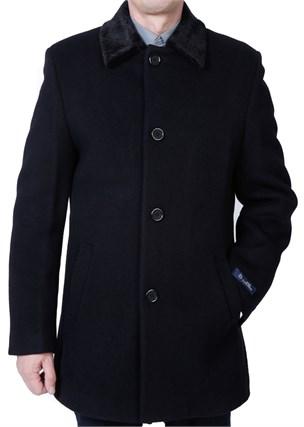 Утепленное пальто Ф-07 - фото 5555