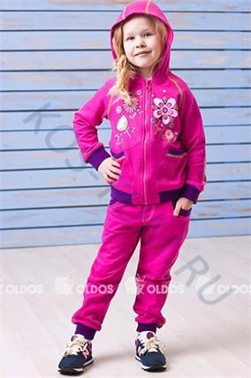 """Спортивный костюм для девочки """"Flover"""" Олдос - фото 5896"""