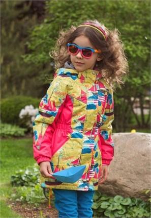 """Куртка для девочки """"Ассоль"""" Олдос Актив - фото 5902"""