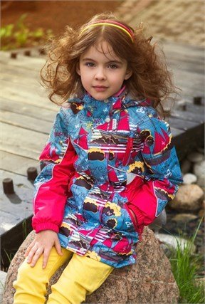 """Куртка для девочки """"Ассоль"""" Олдос Актив - фото 5903"""
