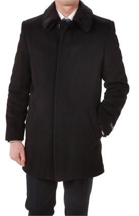 Зимнее утепленное пальто А-50 - фото 5995