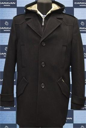 Зимнее пальто на утеплителе А100 - фото 6178