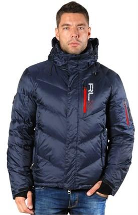 Куртка мужская пуховик RALPH  LAUREN, R45 dark blue - фото 6236