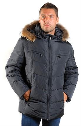 Куртка мужская пуховик SPARCO, 1348 dark blue - фото 6240
