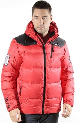 Куртка мужская пуховик RALPH  LAUREN, 13616 red - фото 6248