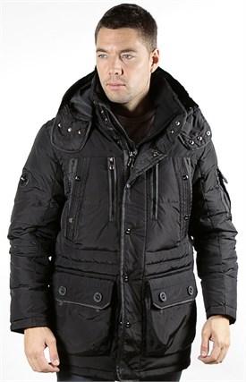 Куртка мужская пуховик RALPH  LAUREN, R505 black - фото 6251