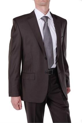 Костюм мужской PERSEUS Super100S коричневый - фото 7141