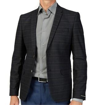 Пиджак приталенный МИРАС SSF укороченный - фото 7441
